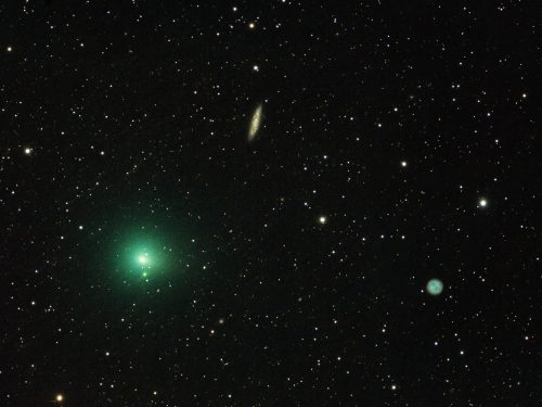 La cometa verde